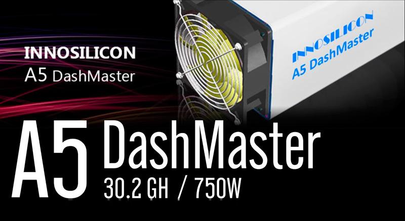 Innosilicon A5 DashMaster el mejor minero DASH 2017