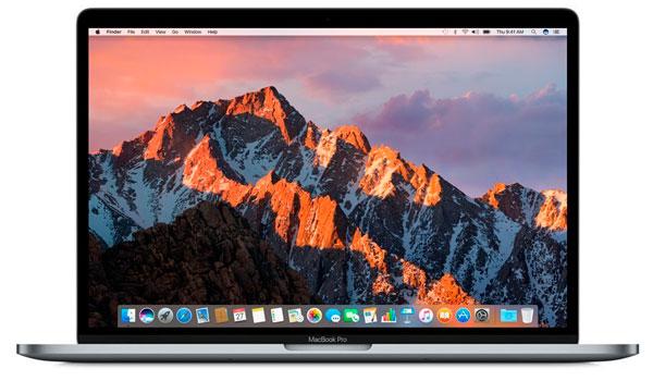 Apple MacBook Pro. Las mejores portátiles para diseño gráfico.