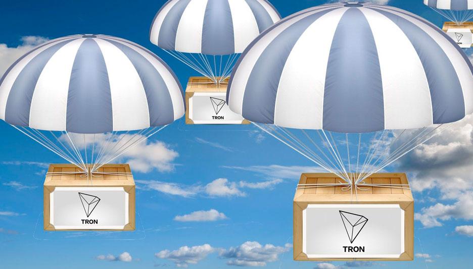 Tron anuncia lanzamiento de 30M TRX Airdrop y aclara migración ERC20