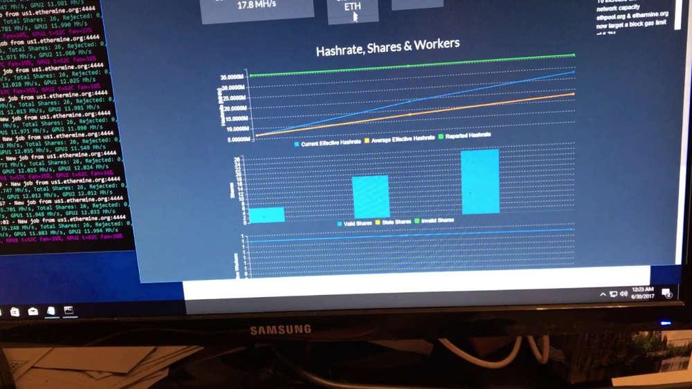 El mejor software para minería Ethereum 2018