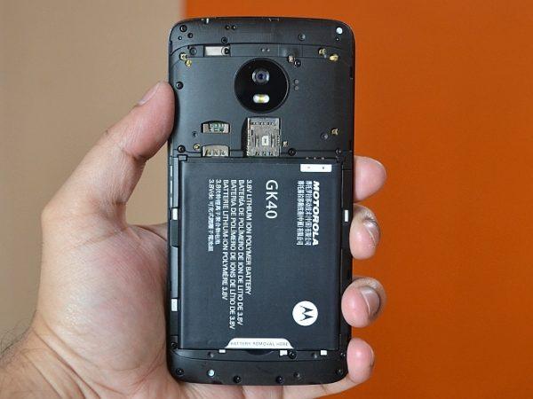 Cómo solucionar problemas de la tarjeta SD en un Moto G5