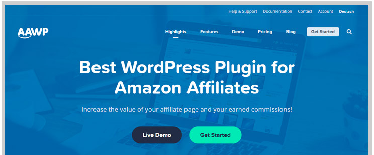 Los mejores plugins afiliados Amazon para WordPress