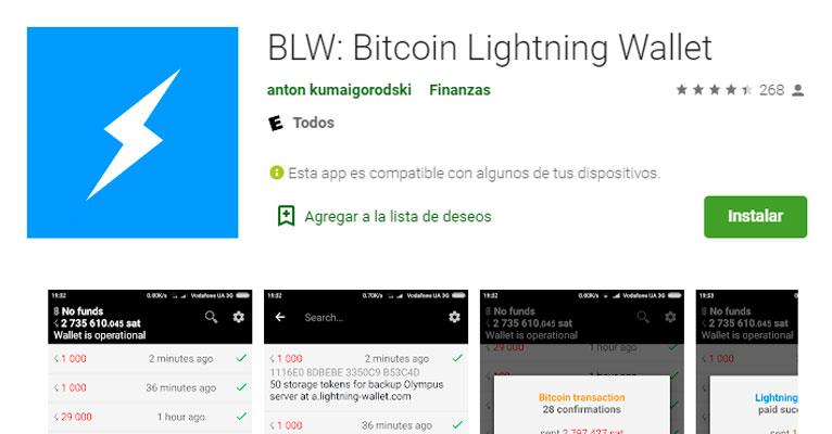mejores lightning network wallet