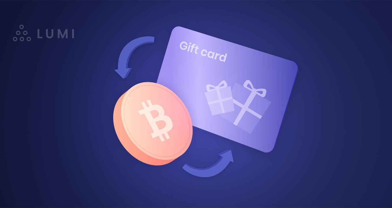comprar gift cards con Bitcoin