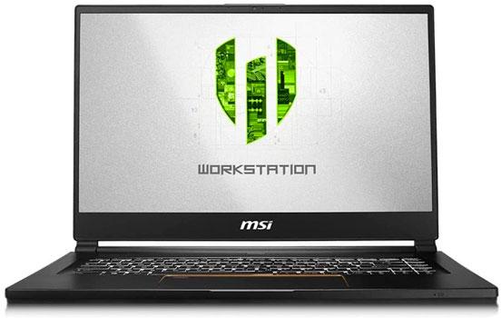 MSI WS65 Los mejores portátiles para Ingenieros