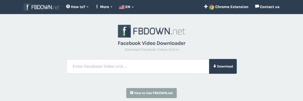 herramientas gratuitas para descargar videos de Facebook